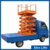Truck mobile scissor Lifts
