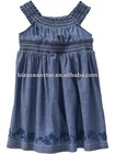 100%cotton child wear girls dress for summer