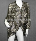 long silk evening jacket