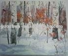 Waterproof Polyester Oil Canvas 300x300