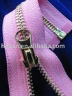 5# Y Teeth Gold Plated Open End Metal Zipper