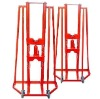 Adjustive Hydraulic cable stand with max axes height of 500-1500mm and rated load of 100KN