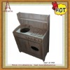 Orchard Bin Flower Antique Display Table