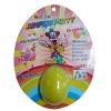 Playdough in egg