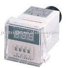 Digital time controller for heat press transfer machine