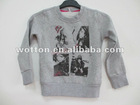 Children's 80%cotton 20%poly sweatershirt