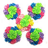 Satin cluster flower for Christmas, many colors IN STOCK