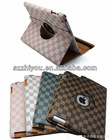 leather stand case for ipad2 ipad3