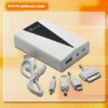 6000mAh Mobile power for ipod.phones.high capacity