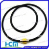 Fashion sport titanuim silicone necklace
