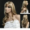 100% synthetic lace wig