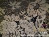 leavers gold lurex textile lace