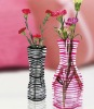 plastic foldable fashion flower vase