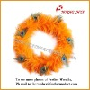 Saddle Feather Wreath