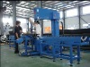 Plastic pipe multi-angle band saw