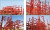 Heavy steel structure fabrication