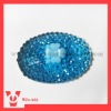 oval shape resin beads rhinestones for fashion decoration