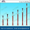 shoring steel prop