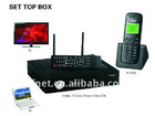 Set Top Box for TV , PHONE, PC, STB , GSM Set top box . WIFI function