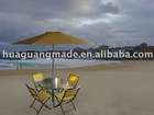 Outdoor leisure umbrella,table & chair set HG-FM008