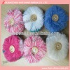 Pompom with button