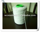 Friction spinning raw white cotton yarn for mop