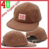 Custom cotton fitted leather strap baseball cap