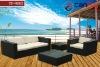 TF-9002 Contemporary Wicker Rattan Furniture Rattan Sofa Set