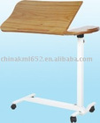 Hospitabl movable over bed tableKMT-01 ( hospital equipment, medical furniture)
