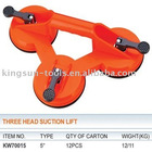 Three Head Suction Lifters For Glass
