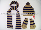 Fashion Striped knit set