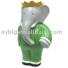 fiberglass elephant sculpture