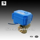 "CWX-15Q 1/2"" 3 way motorized bal valve for water treatment"
