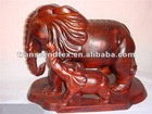 mahogany wood elephant wooden carving craft
