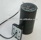 2012 hotsale silver/black 9w led wall lamp outdoor hotel