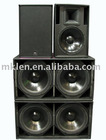 "2*18"" subwoofer system,line array subwoofer"