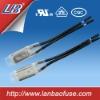Bimetal thermal switch for heating pad, lightings