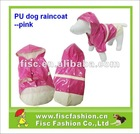 Popular dog raincoat