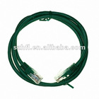 Green Cat5e UTP Patch Cord Network Cable