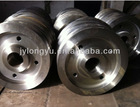 API/AISI/ASME/ DIN 1065/1070/4135/4330/A387Cr/F1/F11/F12/S410/S420/P91/42crmo forged wheel