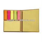 kraft paper sticky notepad