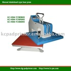 KC-HSM- TC3838HS Manual heat press machine