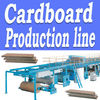 WJ-100 5-ply corrugated cardboard production line /beltline