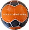 Size1 PVC/PU durable, machine-stitched construction football