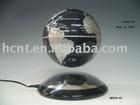 Levitating Sliver Globe (6 inches)