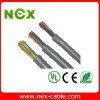 Shield multicore flexible control cable