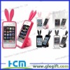 Rabit tail Silicone case for iPhone