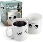 Magic color changing wake up ceramic coffee mug