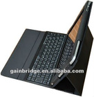 mobile wireless bluetooth keyboard for samsung p7500/7510 galaxy tab 10.1