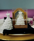 Perfect Reflection Wedding Dress Mini Candle Favors